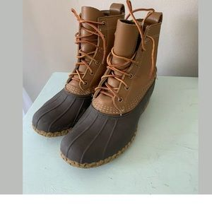 Vtg LL Bean Leather Bean Boots Size 7 *see Size.*
